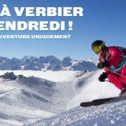 Dude it is powder time in Verbier