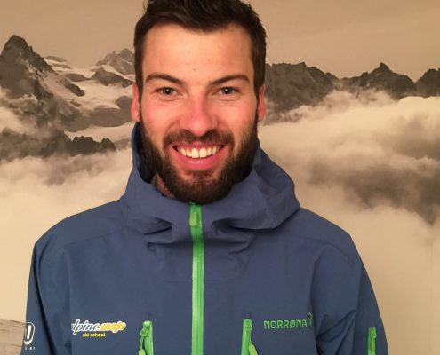 Ski instructor in Haute Nendaz Eliott Gates