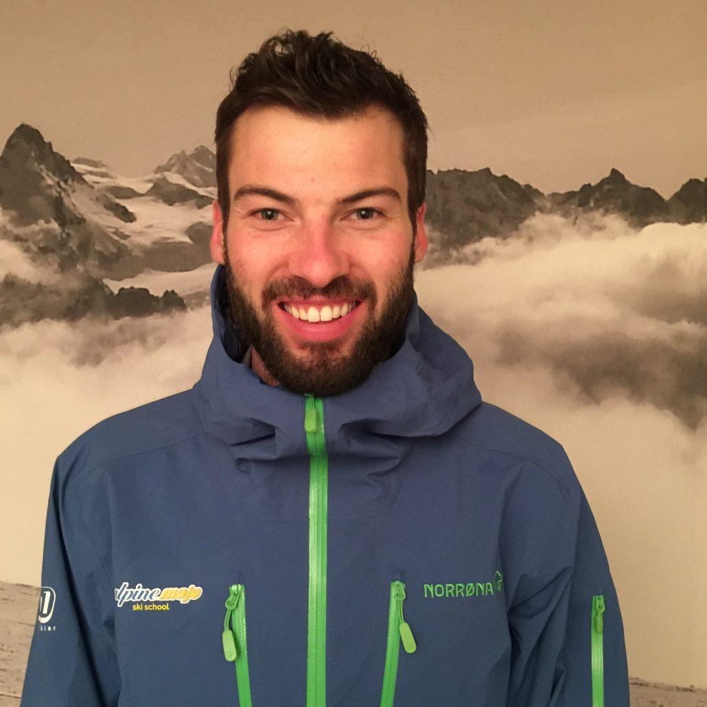 Nendaz ski instructor Eliott Gates
