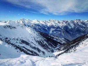 Itinerary ski tour Verbier