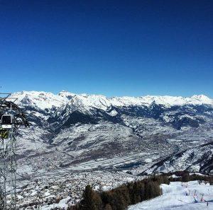 Nendaz ski course