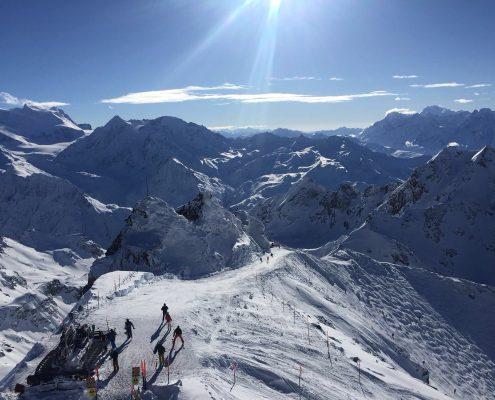 Ski school verbier with the best views