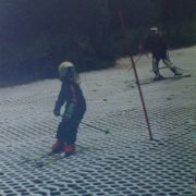 skiing midlands plastic slope