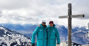 Ski lessons Verbier start with a great instructor