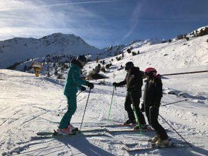 ski lessons Verbier february half term