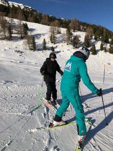 best instructors for ski lessons Verbier